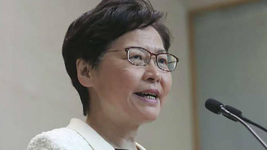 Carrie Lam announces extradition bill withdrawal