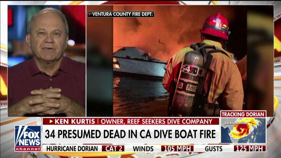 California dive company owner on deadly boat fire: This had 'never, ever happened before'