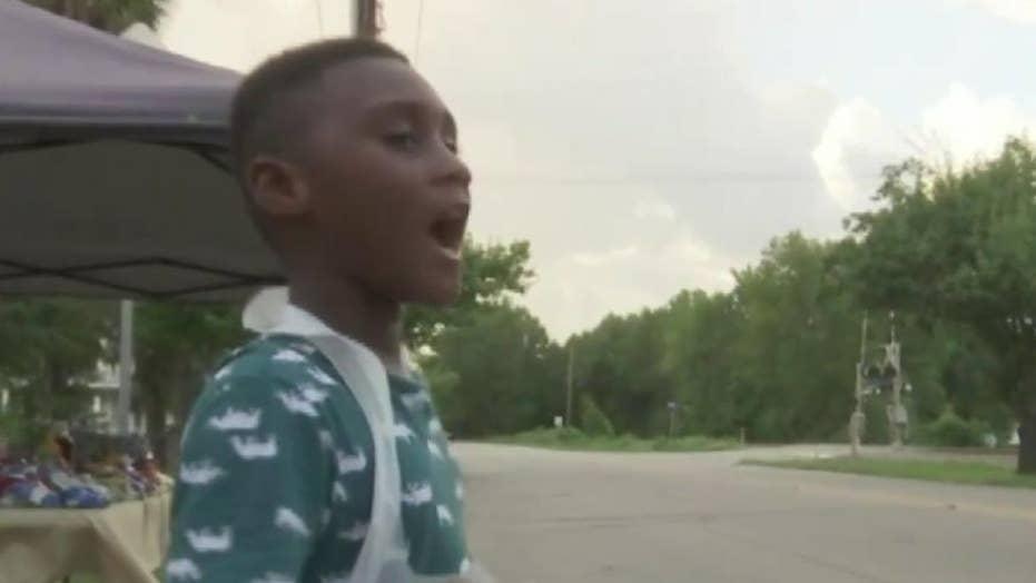 6-year-old South Carolina boy giving away free food to Hurricane Dorian evacuees