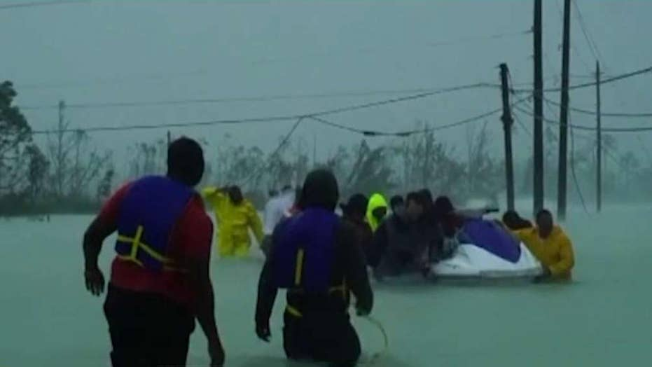Massive rescue and recovery operation underway in Bahamas as Hurricane Dorian threatens Carolinas