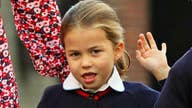 Princess Charlotte arrives for first day at school at Thomas' in Barrersea