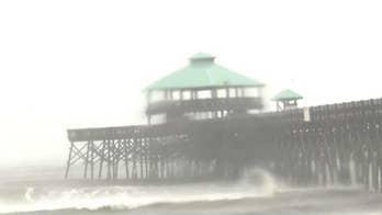 Hurricane Dorian batters South Carolina's barrier islands