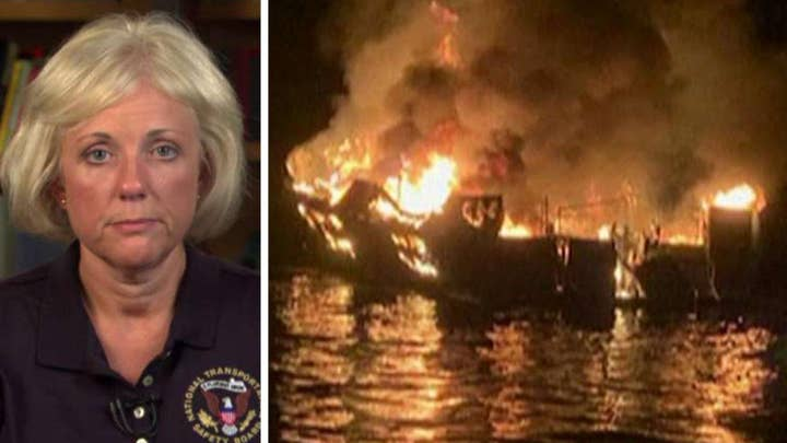 NTSB member Jennifer Homendy on investigation into deadly California dive boat fire