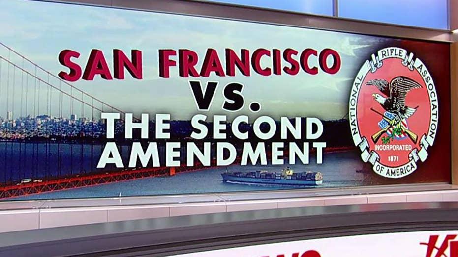 San Francisco declares the NRA a 'domestic terrorist organization'