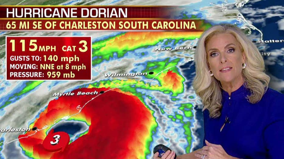 Hurricane Dorian forecast: Tornado warnings in the Carolinas as the powerful storm churns up the coast