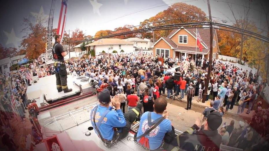 Citizens come together to build custom homes for disabled vets