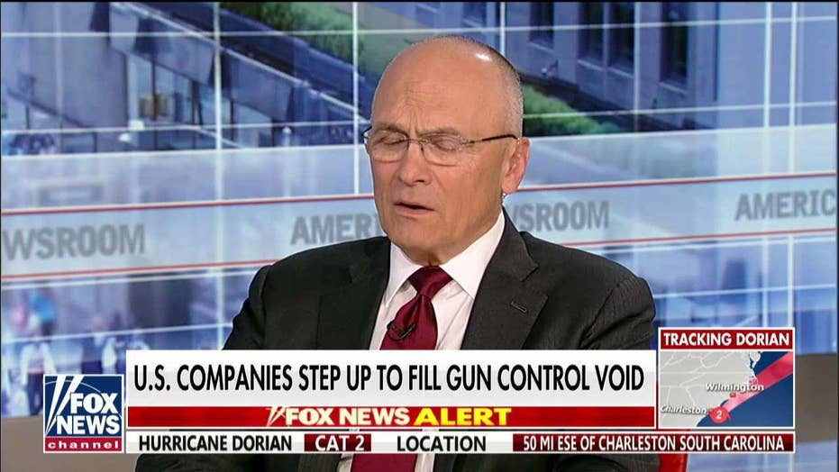 Andy Puzder: Walmart should add security to its stores if