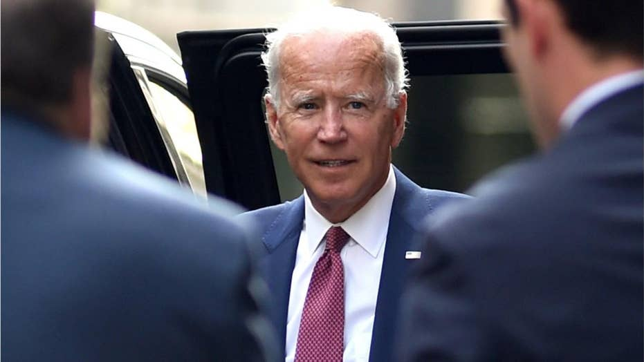 Eye ailment during town hall adds more speculation to Joe Biden's health on campaign trail