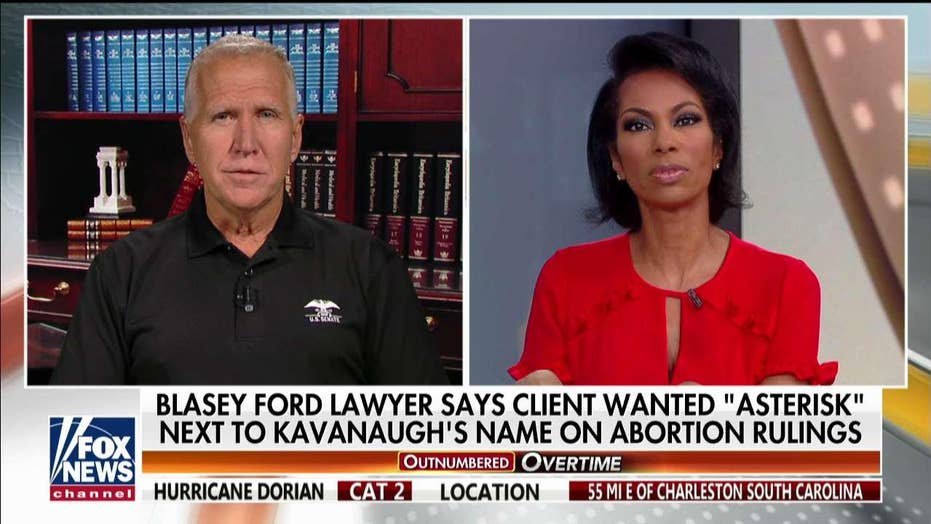 Sen Thom Tillis weighs in on possible investigation into Blasey Ford's attorney after Kavanaugh remarks