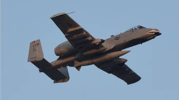 Air Force jet accidentally fires a M156 rocket into the Arizona desert