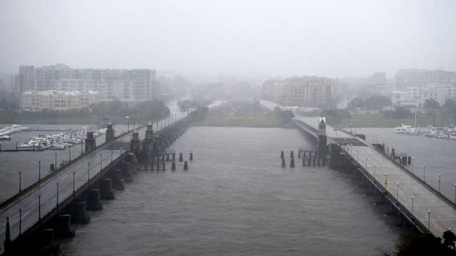 Hurricane Dorian pulls away from North Carolina after whipping Outer Banks, knocking out power