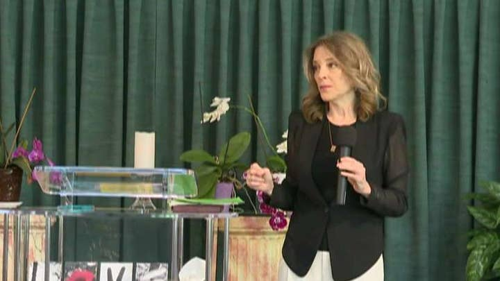Marianne Williamson calls the left 'mean' amid attacks on Trump from Hollywood