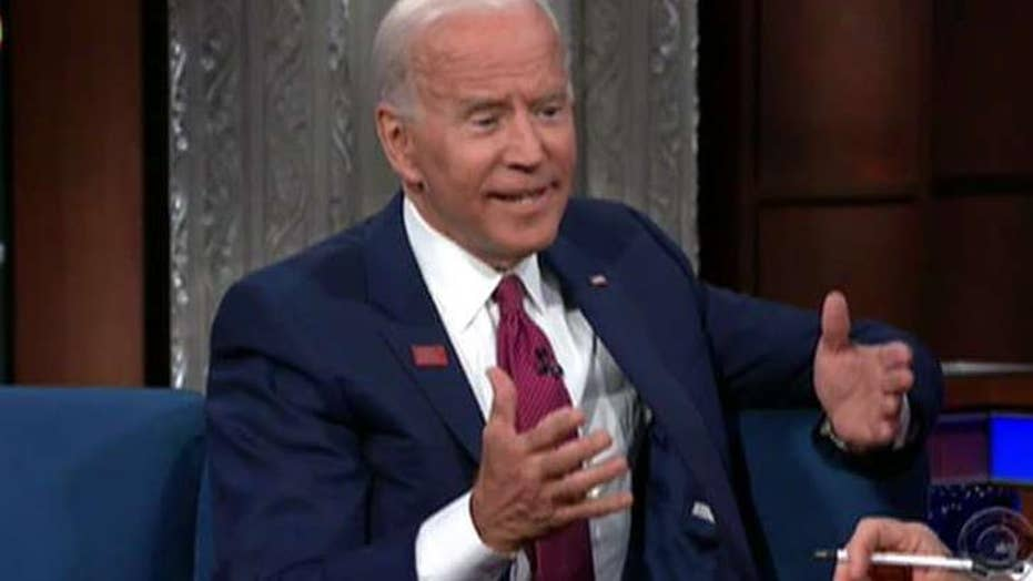 Hannity: Biden struggling to keep it together on the campaign trail