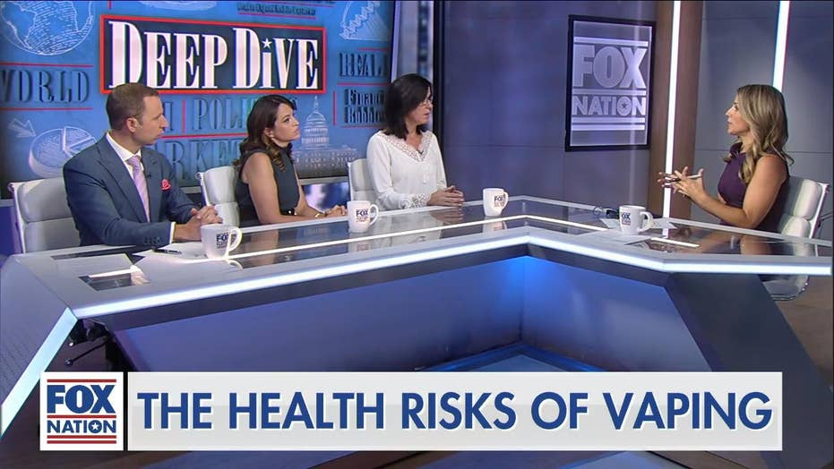 'None of this is going to end well': Doctors' panel on dangers of vaping, as NYC sounds alarm over 'black market'