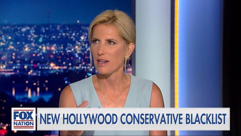 Laura Ingraham on Trump donor list boycott: Hollywood is 'most insular and intolerant bunch on face of the planet'