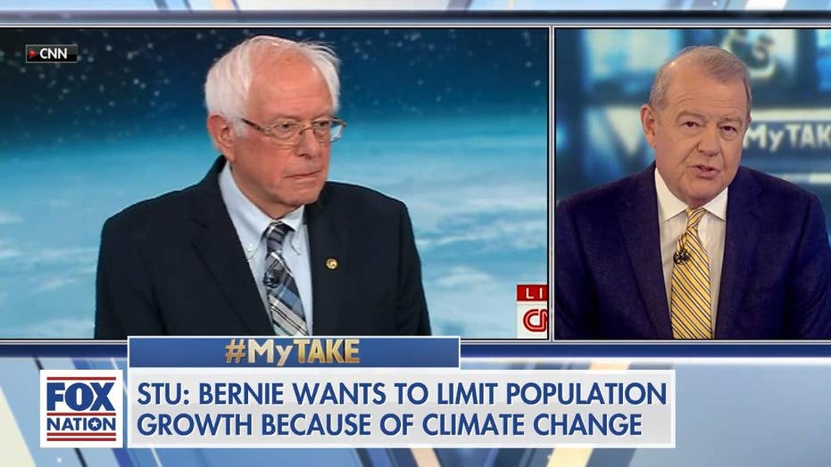 Varney blasts Senator Sanders' plan to combat climate change with abortion and 'Third World population control'