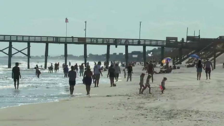 Outer Banks take direct hit from weakening Hurricane Dorian
