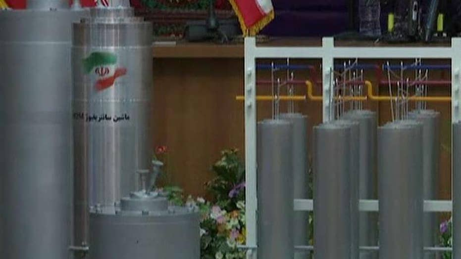Iran shows off new centrifuges in violation of nuclear deal