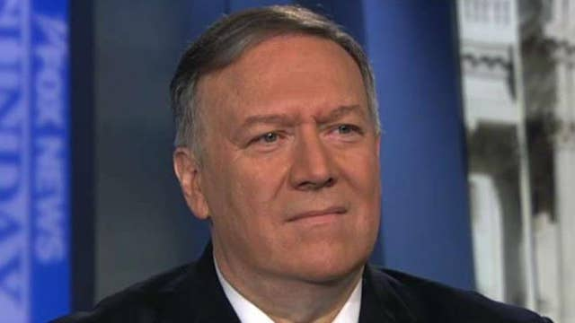 Secretary Mike Pompeo on peace talks with the Taliban, containing threat from Iran