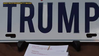 'Trump' license plate rejected for being offensive