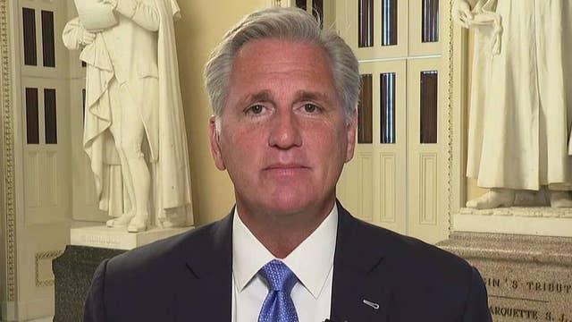 Rep. McCarthy talks gun control, Democrats' impeachment push, Sandford's Trump challenge