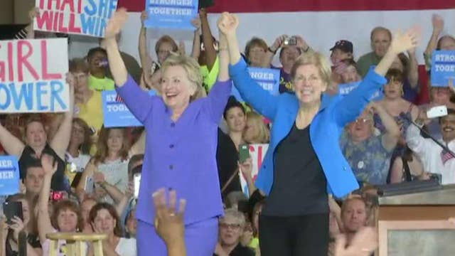 Hillary Clinton and Elizabeth Warren reportedly teaming up behind the scenes