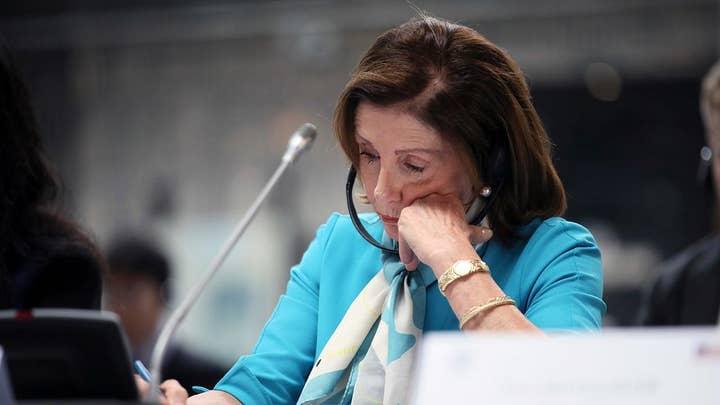 Nancy Pelosi urges President Trump to demonstrate leadership on gun control