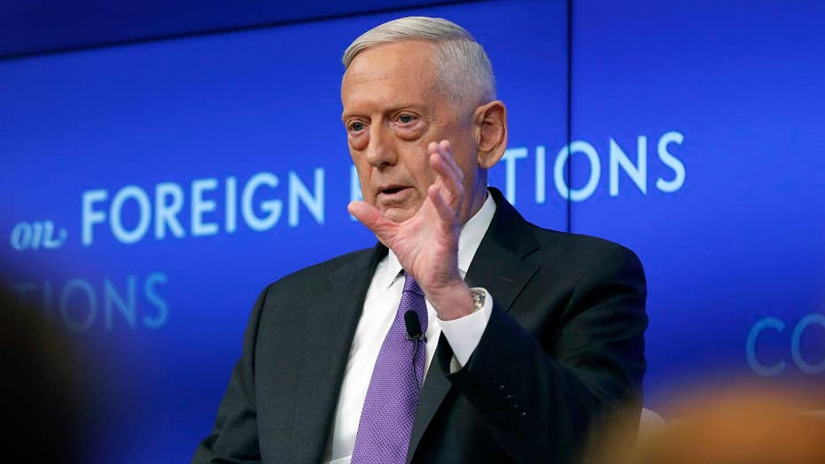 Swamp Watch: Gen. Mattis's new job with the Cohen Group has him stooping to political lows