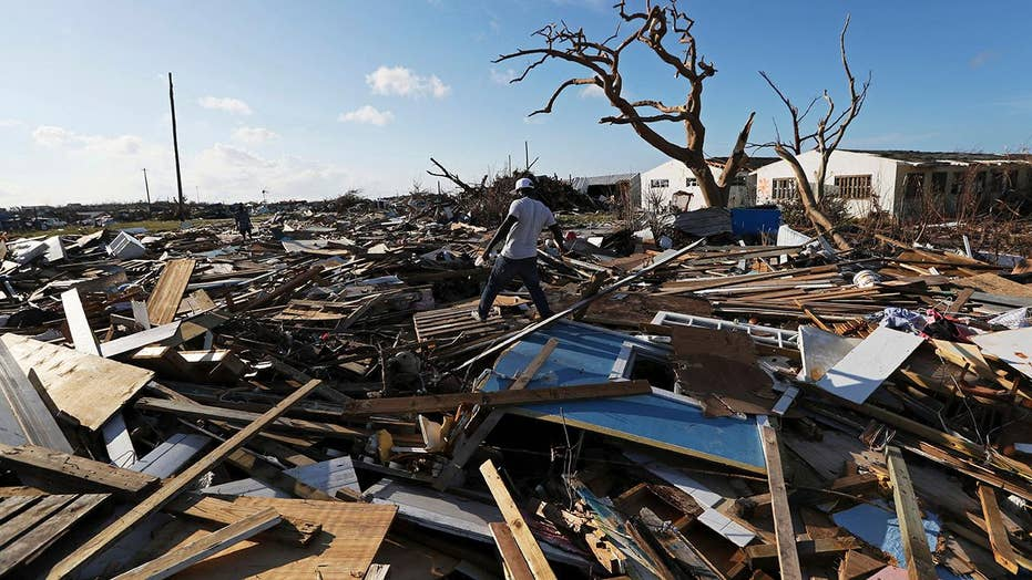 Dorian survivors desperate to escape hurricane's grim aftermath in Bahamas