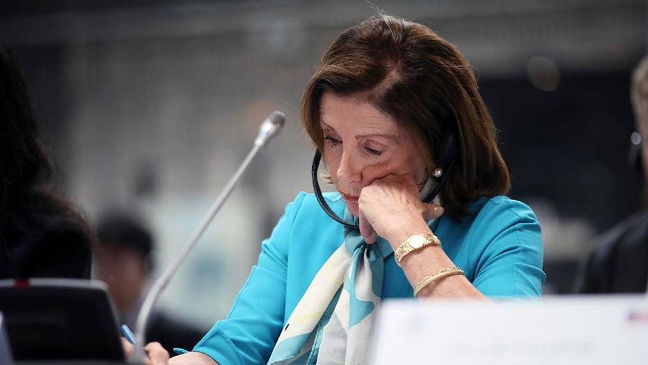 Nancy Pelosi urges President Trump to demonstrate leadership gun control