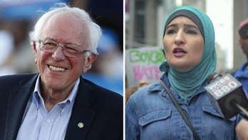 Bernie Sanders touts support of known anti-Semite Linda Sarsour