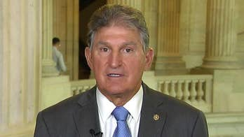 Sen. Manchin reacts to CNN spy report, gun control debate on Capitol Hill