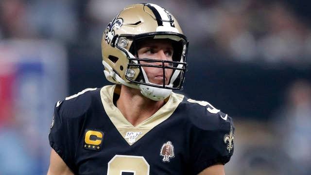 Saints quarterback Drew Brees facing backlash for promoting 'bring your Bible to school'