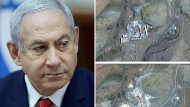 Israel accuses Iran of destroying secret nuclear weapons site