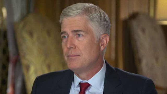 Gorsuch: I leave politics to the political branches, I'm here to talk about the Constitution