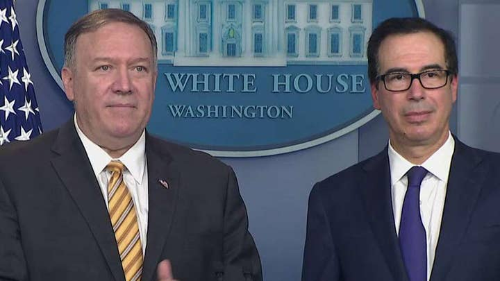 Secretary Pompeo on John Bolton's firing: President Trump is entitled to the staff that he wants