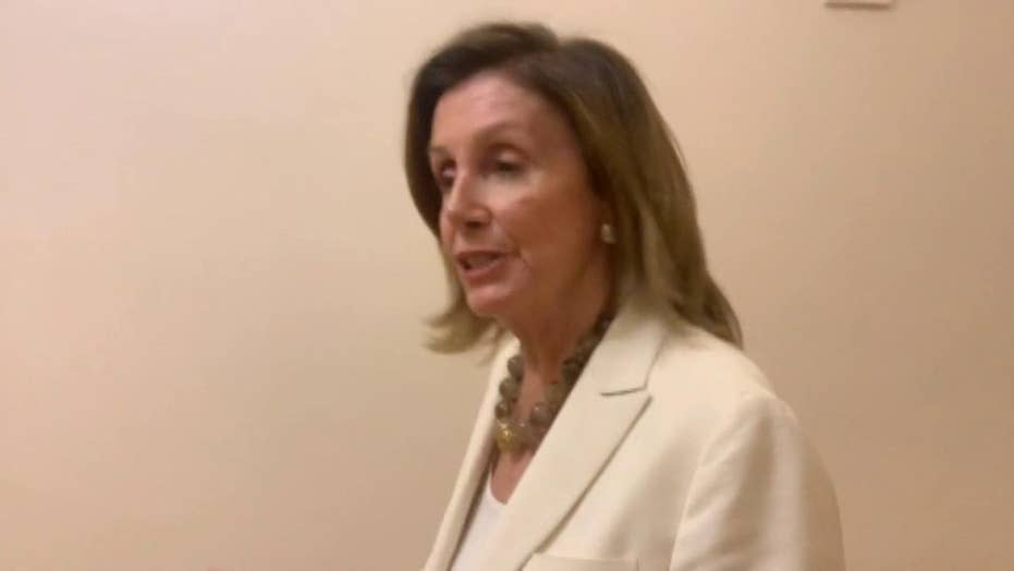Speaker Pelosi says she supports Nadler resolution on impeachment procedures