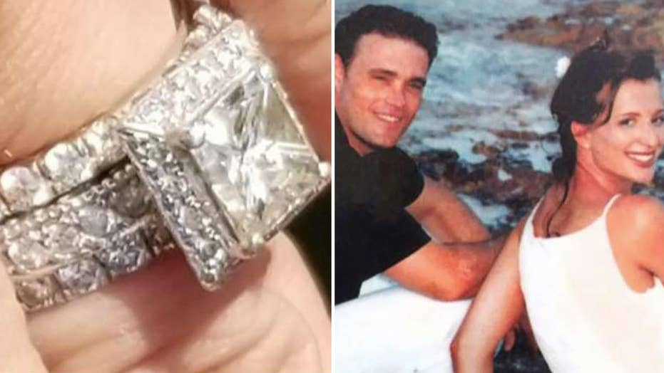9/11 widow pleads for return of stolen wedding rings blessed by Pope at Ground Zero