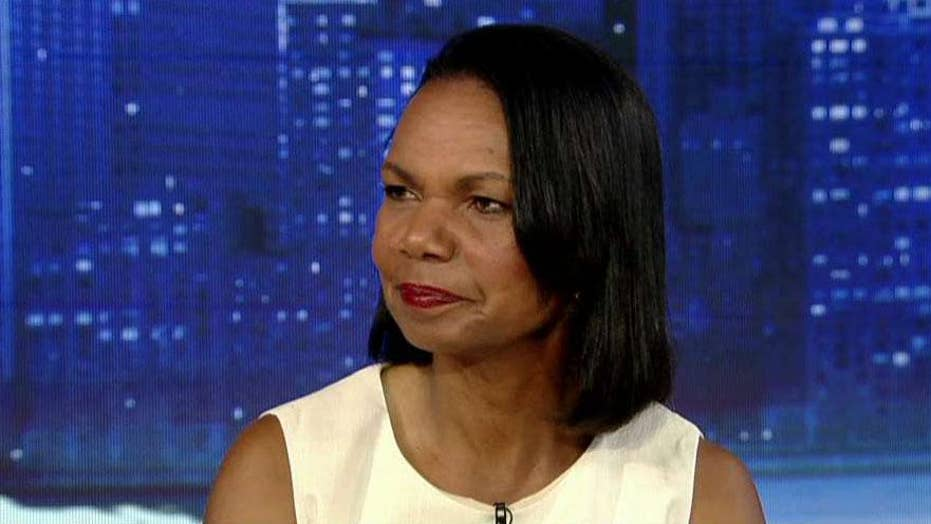 Condoleezza Rice: The president and national security adviser need to be on the same page