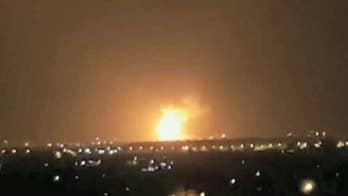 Israel Defense Forces strike Gaza after rockets target southern Israel