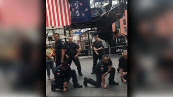 New Zealand firefighters pay tribute to 9/11 first responders