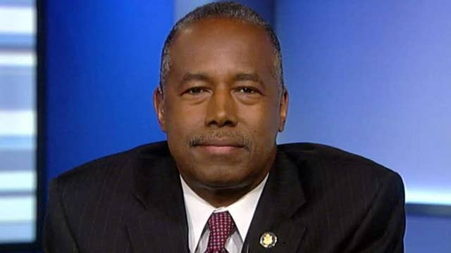 Carson: The president is very passionate about doing something about the homeless crisis