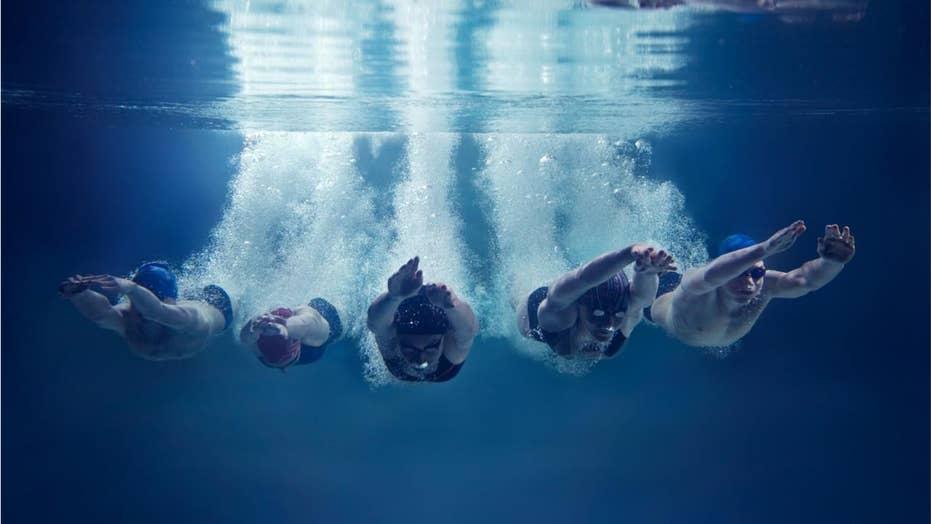High school swimmer disqualified because ref saw 'butt cheek touching butt cheek'