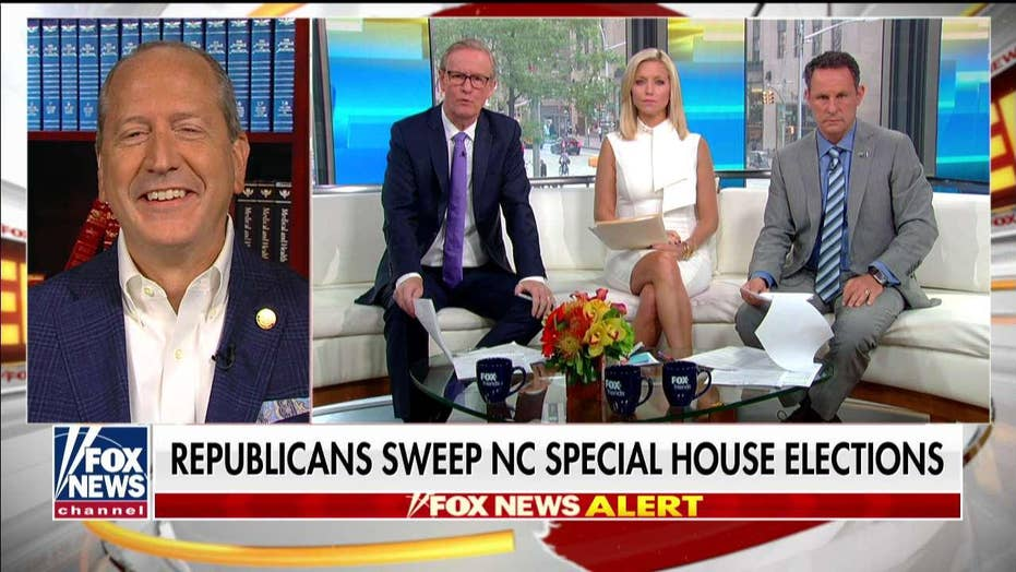Dan Bishop credits Trump for special election win in North Carolina