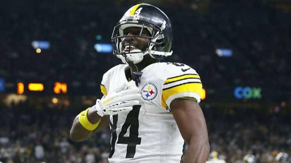 new concept 1c31a 84fa6 Antonio Brown's agent on lawsuit: 'This is a money grab ...
