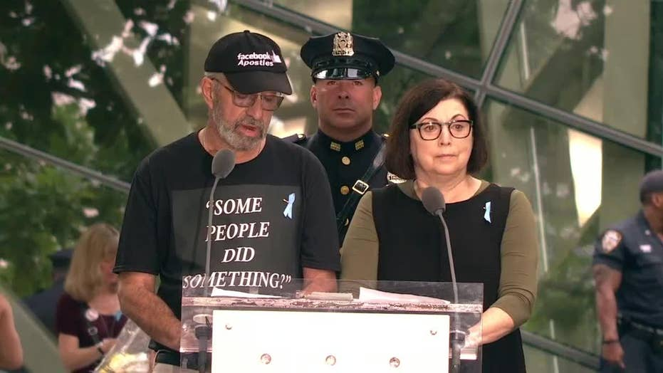 Son of 9/11 victim blasts Rep. Ilhan Omar during memorial ceremony