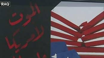 'Death to America' billboards on display in Baghdad