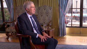 Justice Gorsuch on his relationship with Justice Brett Kavanaugh