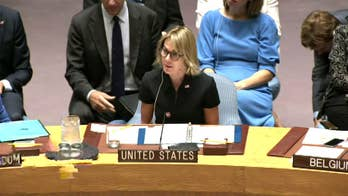 UN Ambassador Kelly Craft takes her seat at the U.N. Security Council