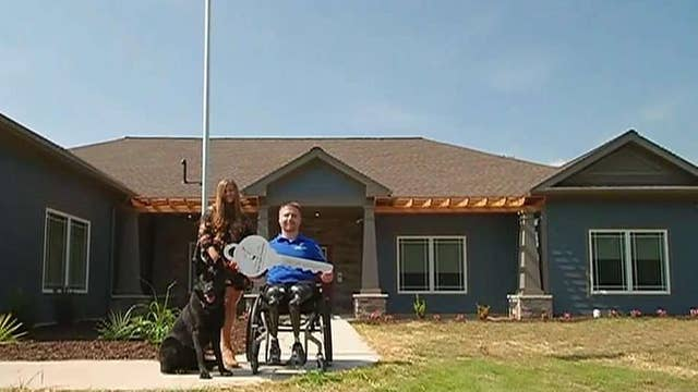 US Army veteran receives smart home from Tunnel to Towers Foundation